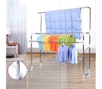 Length and Height Adjustable Foldable Drying Rack