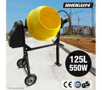 125L Portable Cement Concrete Mixer