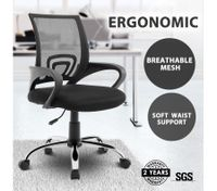 Ergonomic Mesh Office Chair Executive Computer Work Armchair