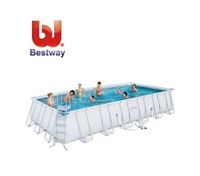 Bestway Above Ground Deluxe Steel Frame Swimming Pool