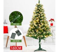 160cm Artificial Christmas Tree with LED Lights
