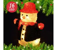 Christmas Led Light Acrylic Snowman