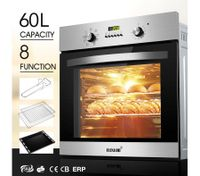8 Function Electric Wall Oven-60cm