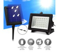 Ultra Bright Solar 30 LED Outdoor Garden Spot Light