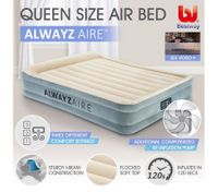 Bestway Autoinflation Mattress Electric Air Pump Bed - Queen Size