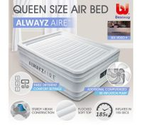 Bestway AlwayzAire Mattress Electric Air Pump Bed - Queen Size