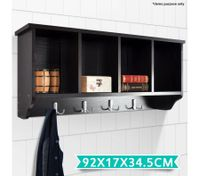 4 Compartment Coat Rack Cabinet