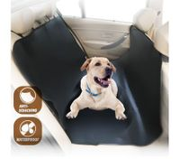 Waterproof Pet Hammock Back Seat Cover-Black