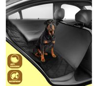 Premium Waterproof Pet Hammock Non-Slip Back Seat Cover