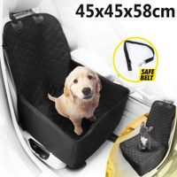 2-in-1 Waterproof Pet Car Front Seat Cover and Travel Basket