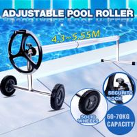 Pool Cover Roller Reel Adjustable From 4.3 To 5.55M