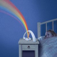 Led Rainbow Projector Lamp