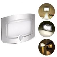 Led Wireless Light-Operated Motion Sensor Sconce Wall Lamp Battery Power