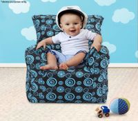 Blue Print Baby Bean Bag Sofa Cover