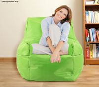 Green Bean Bag Sofa Cover