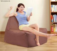 Coffee Colour 1-Seater Bean Bag Cover