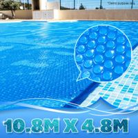Swimming Pool Cover Blanket - 400 Micron Solar Outdoor - 10.8M x 4.8M
