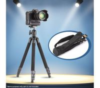 Professional Camera Tripod With Free Carry Bag