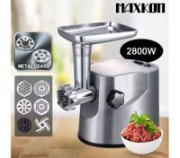 Low Noise Electric Meat Grinder with Stainless Steel Blades
