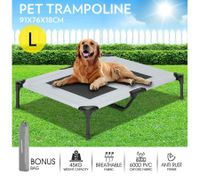 Heavy Duty Pet Trampoline Cot-Large