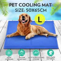 Pet Self-Cooling Gel Mat Bed-Large