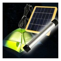 Multifunction USB power charger Solar Light LED Light Bar Camping Hiking Tent Emergency Lamp