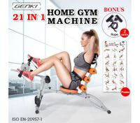 Genki 21 IN 1 Full Body Workout Home Fitness Machine ORANGE