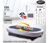 400W Genki 3D Shake Body Vibration Machine-Two Motor