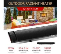 MAXKON 1800W Electric Outdoor Central Infrared Heaters