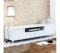 Modern High Gloss TV Stand-White