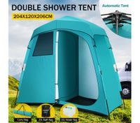 Portable XL Waterproof Changing Room and Camping Shower and Toilet Tent