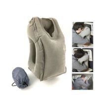 Traveling Comfortable Bolster Car Pillows Gray