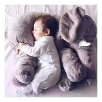 60Cm Infant Soft Appease Elephant Playmate Calm Doll Baby Toys Elephant Pillow