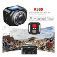 360 Degree Panoramic Mini Sports Action Camera Outdoor HD Video Camera
