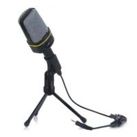 Professional Condenser Sound With Stand Holder Clip For Chatting Singing Karaoke Pc Laptop
