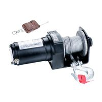 Heavy Duty Electric ATV Winch with Remote Control - 2000LBS/907KG