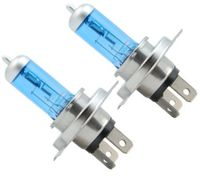 2 x 5000K H4 100W 12V Super White Car Bulbs