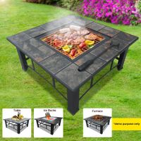 Multi-Function BBQ Pit Table
