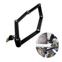 High Strength Bicycle Lock Anti-Thief 6 Joints Foldable Bike Lock