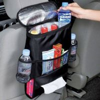 Auto Car Seat Organizer Holder Multi-Pocket Travel Storage Bag Hanger Back