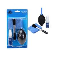4 in 1 Professional Camera Cleaning Kit Pro Set Blower Brush Cleaning Cloth