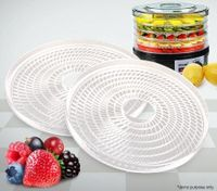 Set of 2 Maxkon Food Dehydrator Trays