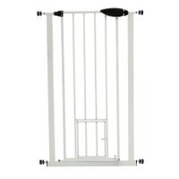 Pet Barrier Gate with Cat Door 65cm - 72cm