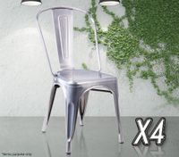 Galvanized Chairs