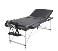 Portable Black Massage Bed