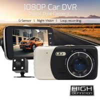 "4"" Full HD 1080P Car Video Camera DVR Dash Cam Dashboard Recorder G-sensor"
