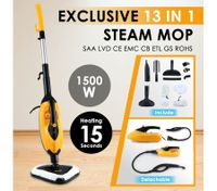 13-in-1 Best Multifunctional Premium Steam Mop Cleaner-1500w