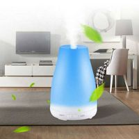 Mini Ultrasonic Air Aroma Humidifier With Changing Color LED Lights