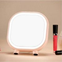 LED Table Lamp Mirror With Bluetooth Speaker For Make Up
