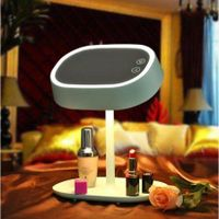 Creative Rechargeable LED Makeup Mirror Night Lamp